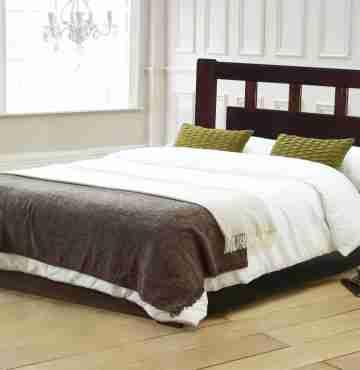 Кровать из массива сосны КМ-1.5ПМ