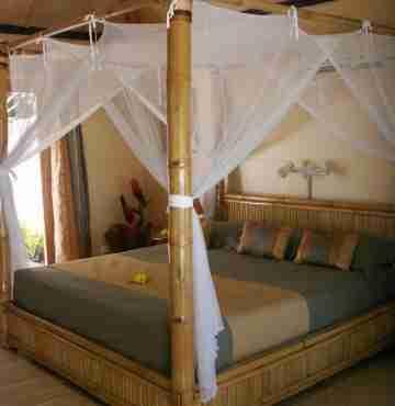 Кровать бамбуковая 2,2м x 1,9м
