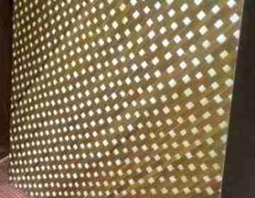 Бамбуковые панели Звездопад 1-ая  60х60см