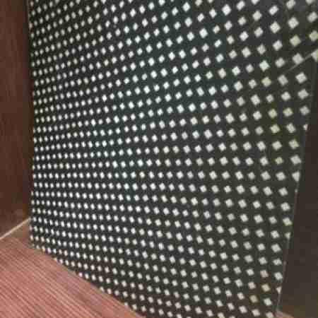 Бамбуковые панели Звездопад сепия  2-ая  60х60см