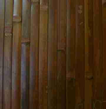 Бамбуковое полотно Шоколадное, 17-20 мм -1 м