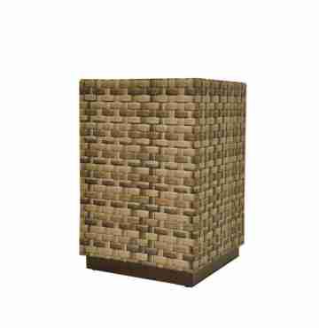 Кашпо квадратное напольное