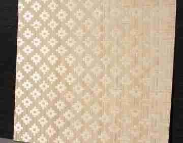 Бамбуковые панели Цветы (HD) 1-я 60х60см