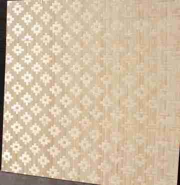 Бамбуковые панели Цветы (HD) 2-я 60х60см