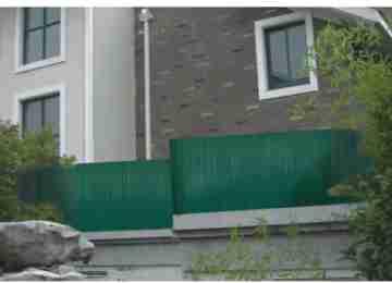 Искусственная изгородь PVC/Z (2 x 3m)