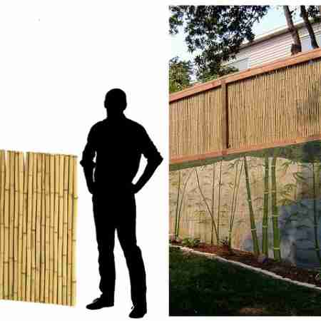 Бамбуковые ограждения Термо N100cм х 200cм