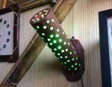 Светильник настенный 104111 Диаметр: 10 см Длина: 30 см
