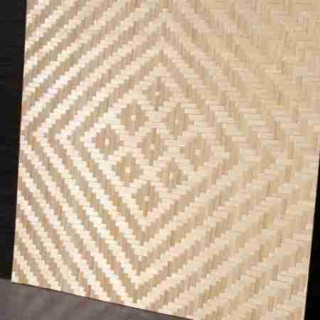 Бамбуковые панели Сакура  (9H )2-я  60х60см