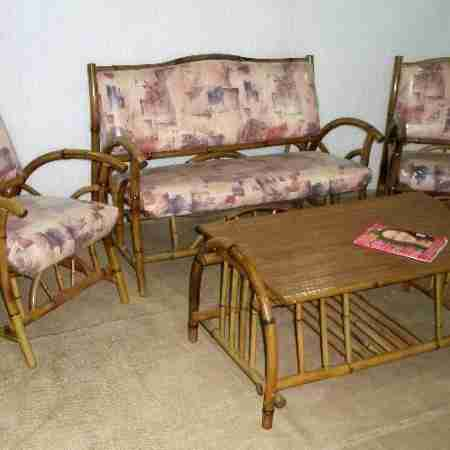 Комплект бамбуковой мебели Афродита