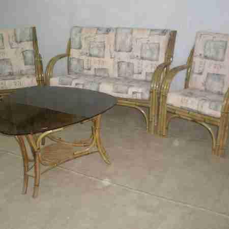 Комплект бамбуковой мебели Виола