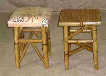 Табуретки из бамбука
