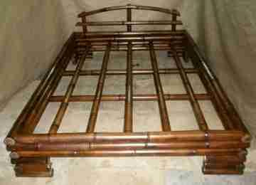Кровать бамбуковая 2,2м x 1,9м №4