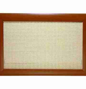 Декоративный экран «Ротанг белый»