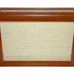 Декоративный экран с коробом «Ротанг белый»