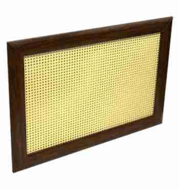 Декоративный экран «Ротанг желтый»