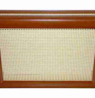 Декоративный экран с коробом «Ротанг желтый»