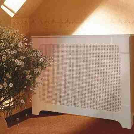 """Экран для радиатора """"Классический"""" большой, белый"""