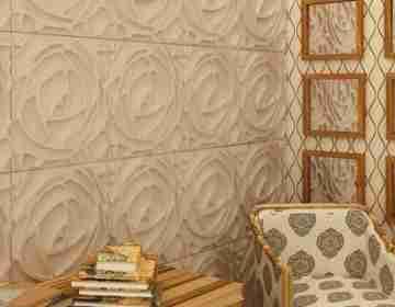Бамбуковые 3D панели Peony