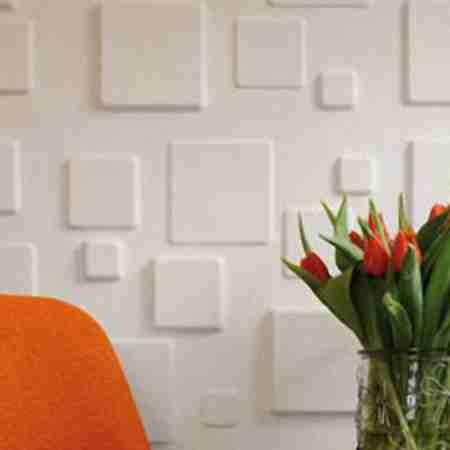 Бамбуковые 3D панели Squares