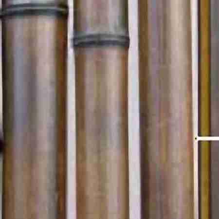 Бамбук шоколад.обжиг. d 70-80мм L=2,8-3м