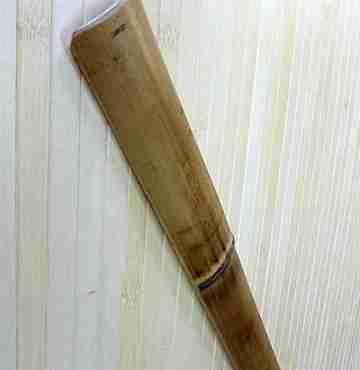 Блок-хаус бамбук. обожжен. 35 мм L=2,8-3м