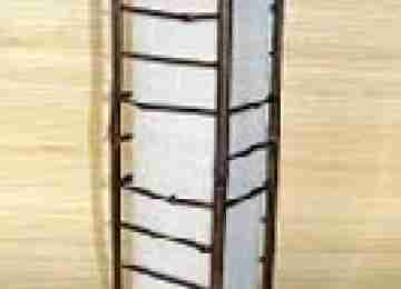 Светильник настенный 104112 Ширина: 15,24 см Длина: 15,24 см Высота: 50,8 см