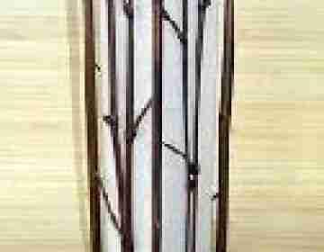 Светильник настенный 104113 Ширина: 15,24 см Длина: 15,24 см Высота: 50,8 см