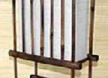Светильник настольный 101169 Ширина: 11,43 см Длина: 27,94 см Высота: 41,27 см