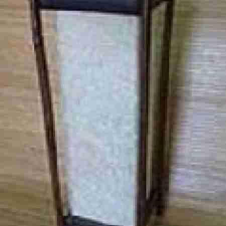 Светильник настольный 101191- 210 Ширина: 15,0 см Длина: 15,0 см Высота: 50,6 см