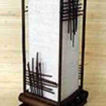 Светильник настольный 101211 Ширина: 20,3 см Длина: 20,3 см Высота: 49,5 см