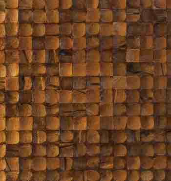 Кокосовая мозаика Cosca Карамель интерно