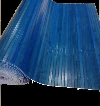Бамбуковое полотно Лагуна лак. 17мм - 0,9 м