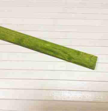 Бамбуковая рейка зеленая 2450мм х 24мм х 4мм
