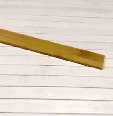 Бамбуковая рейка кофе 2450мм х 24мм х 4мм